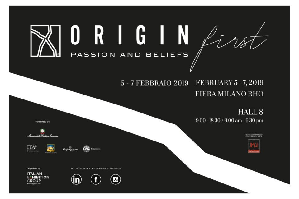 The best of Italian manufacture in February at ORIGIN FIRST